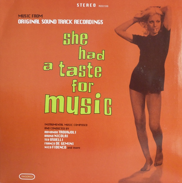 Acheter disque vinyle Various She Had A Taste For Music a vendre