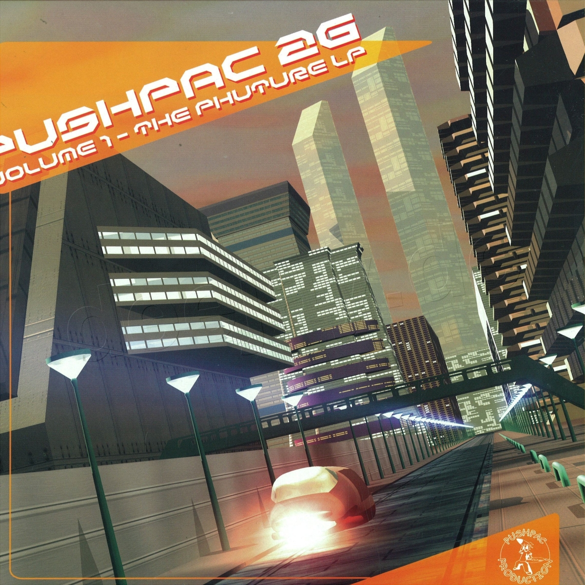 Pushpac 2G Volume One - The Phuture LP
