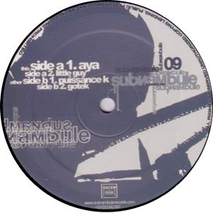 Buy vinyl artist% subnambule 09 for sale