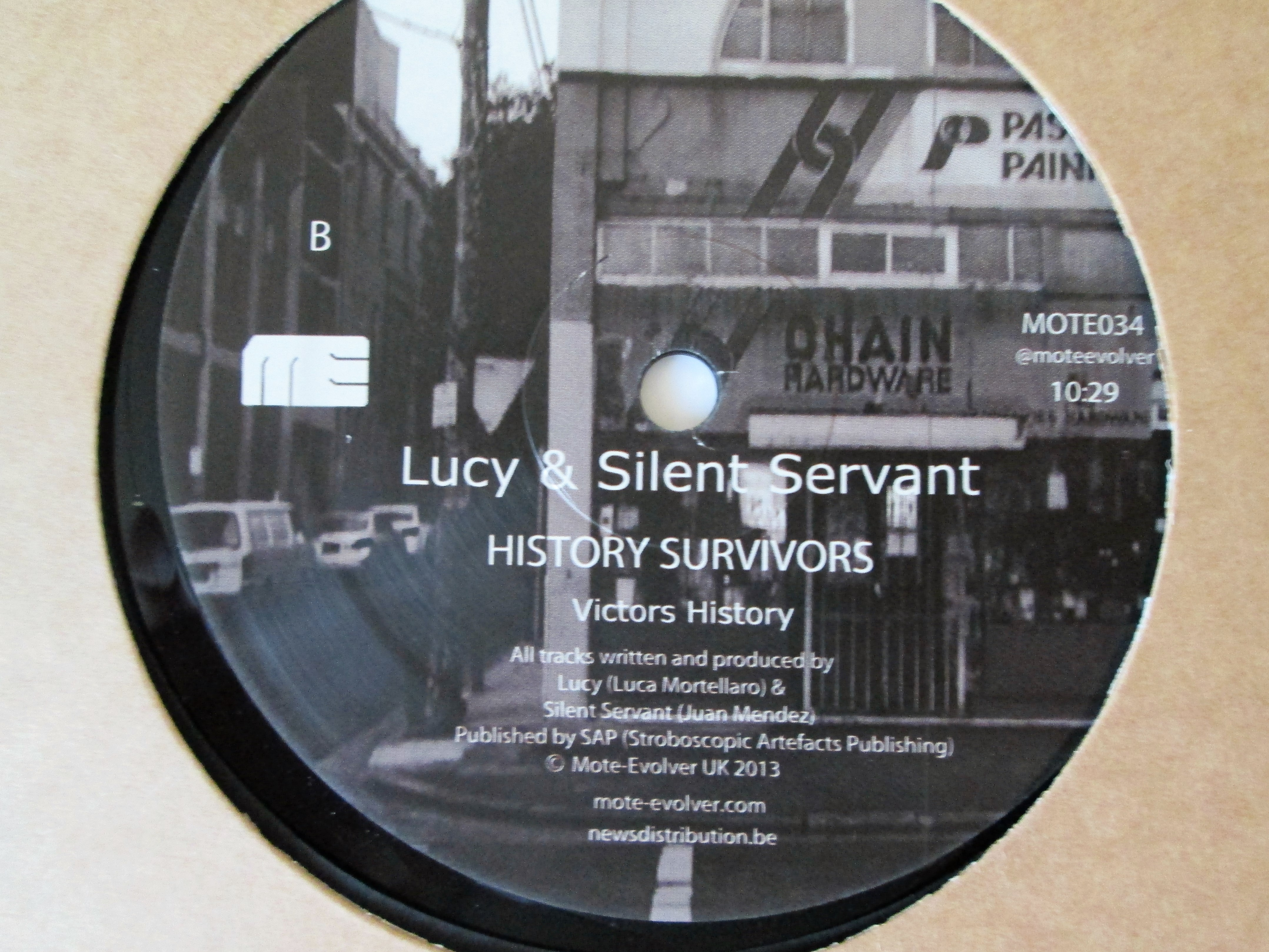 Buy vinyl artist% history survivors for sale