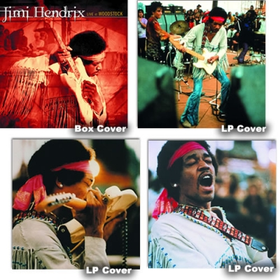 Live at Woodstock - Box Set 3 LP + Bonus 7'' - Colored Vinyl