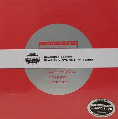 Acheter disque vinyle Duke Ellington & Louis Armstrong Recorded Together For The First Time (Box Set 4 LP) - 45 RPM Clarity Vinyl a vendre