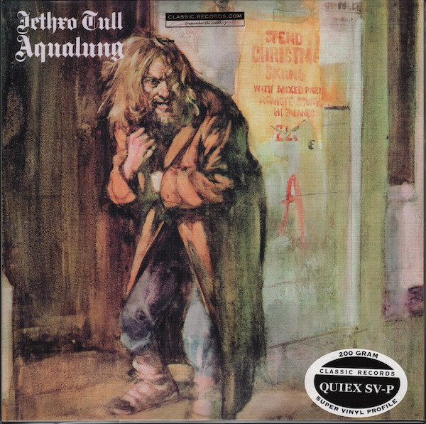 Buy vinyl artist% Aqualung for sale