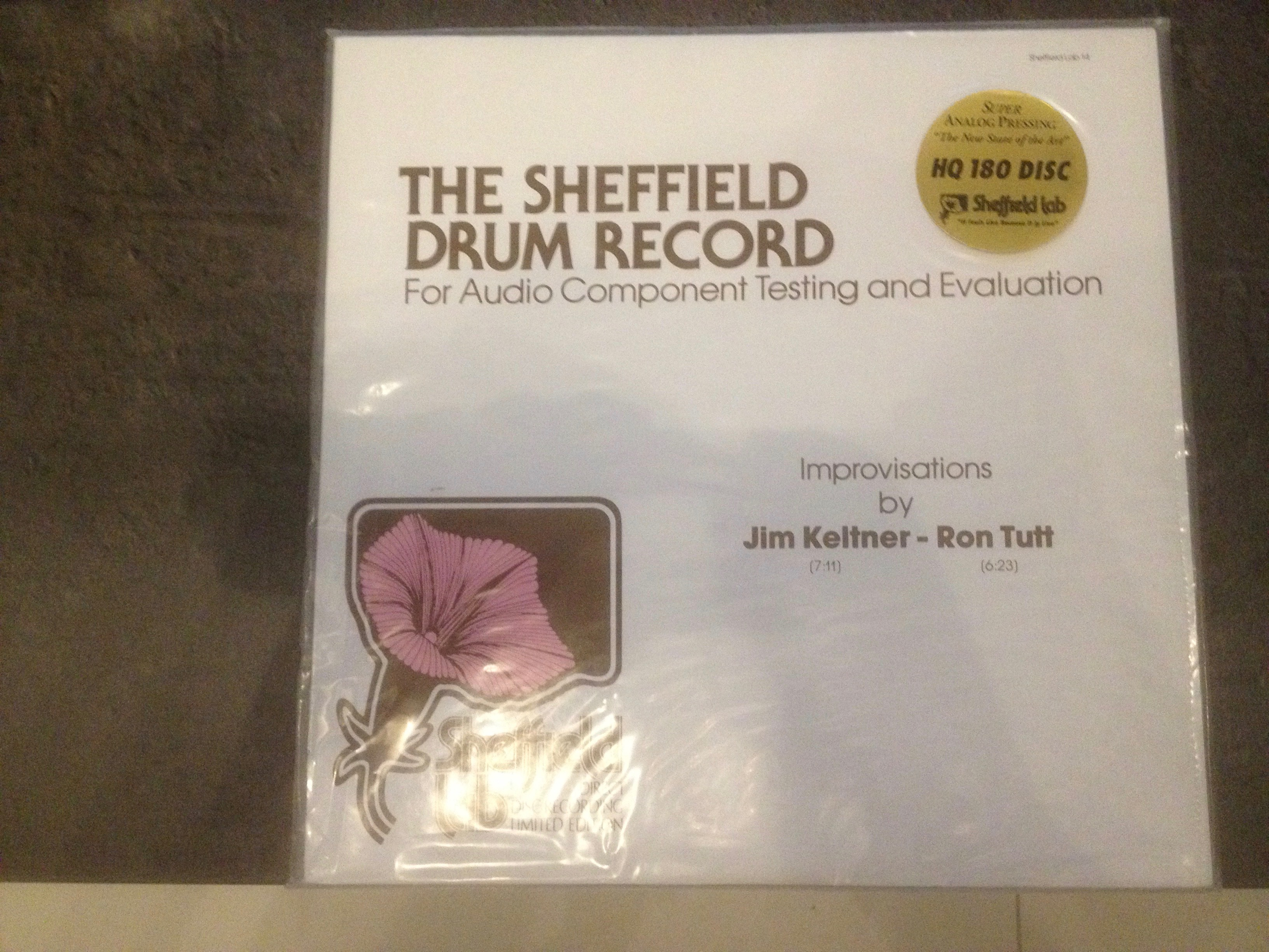 Buy vinyl artist% The Sheffield Drum Record for sale