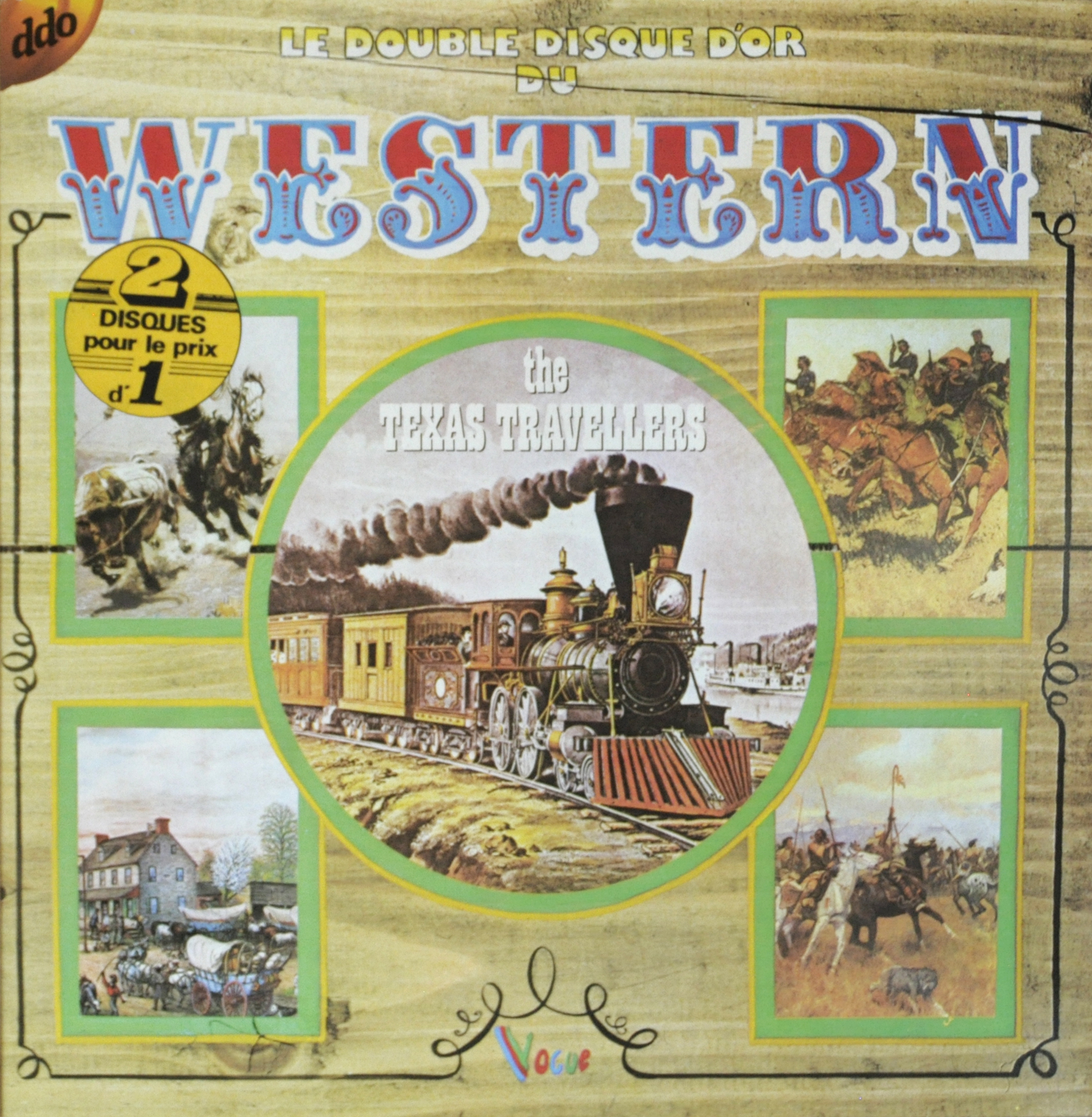 Buy vinyl artist% Le double disque d'or du Western for sale