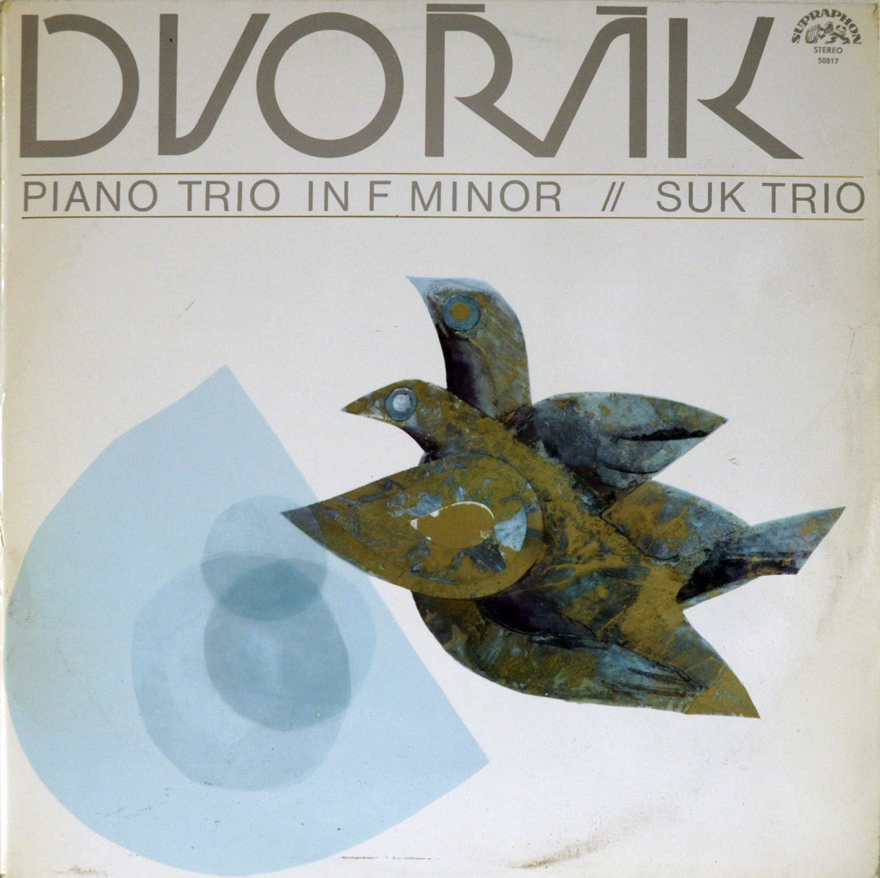 Buy vinyl artist% Piano Trio in F ninor for sale