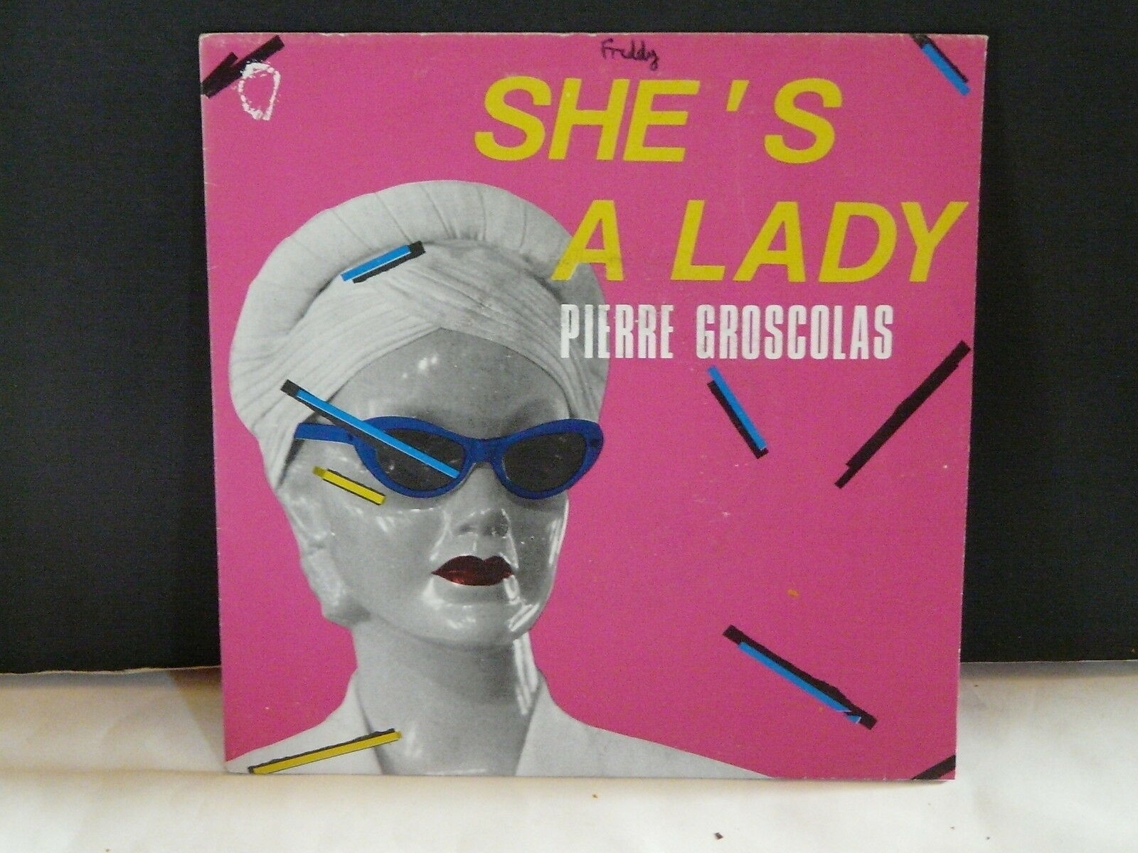 Buy vinyl artist% SHE'S A LADY for sale