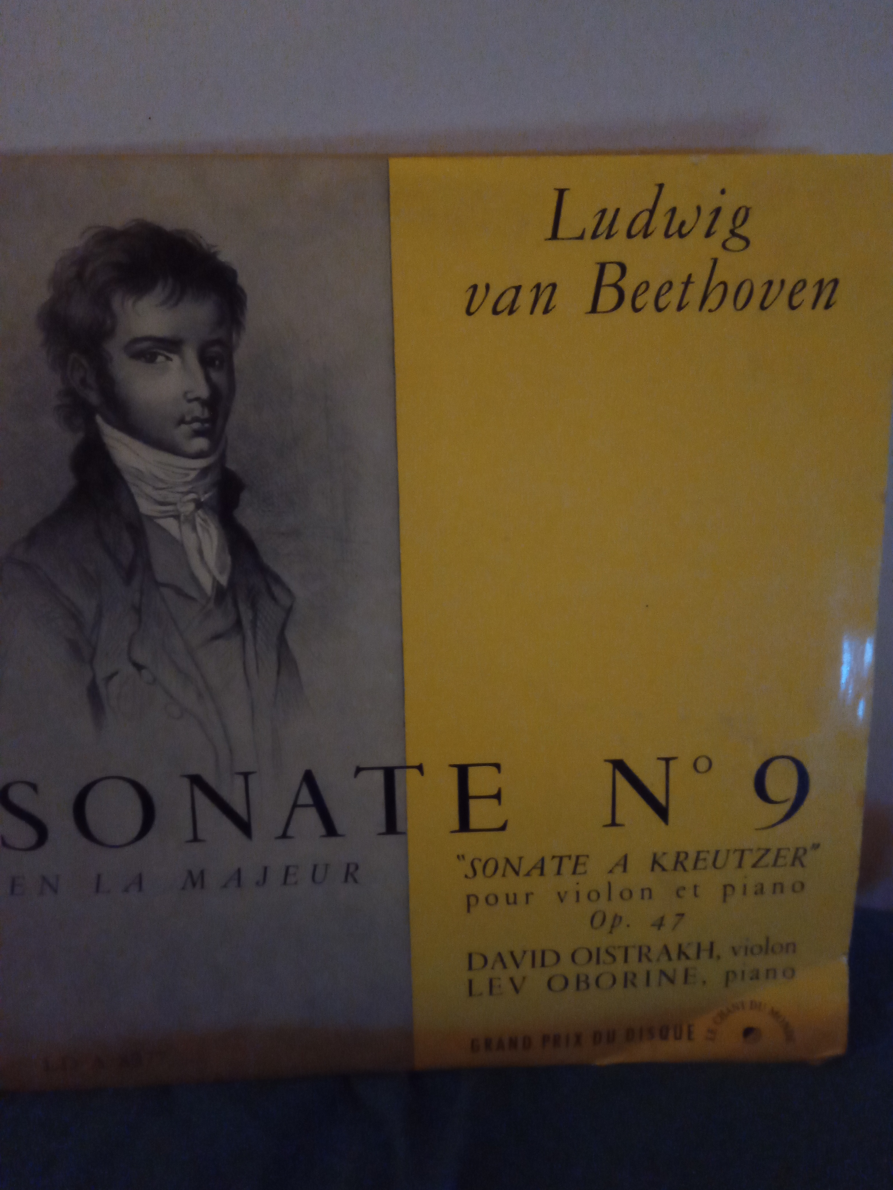 Buy vinyl artist% Sonate numéro 9 for sale