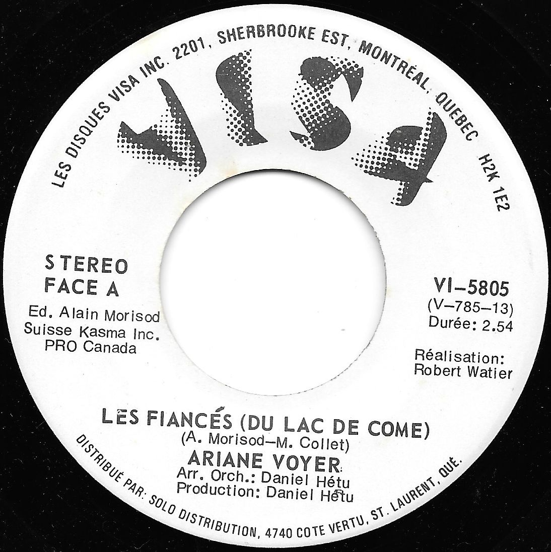 Buy vinyl artist% Les Fiancés (Du Lac De Come) / Poeme: Emile Nelligan for sale