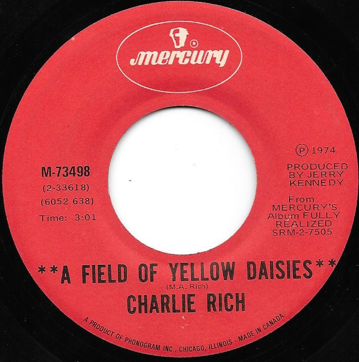 Buy vinyl artist% A Field Of Yellow Daisies / Party Girl for sale
