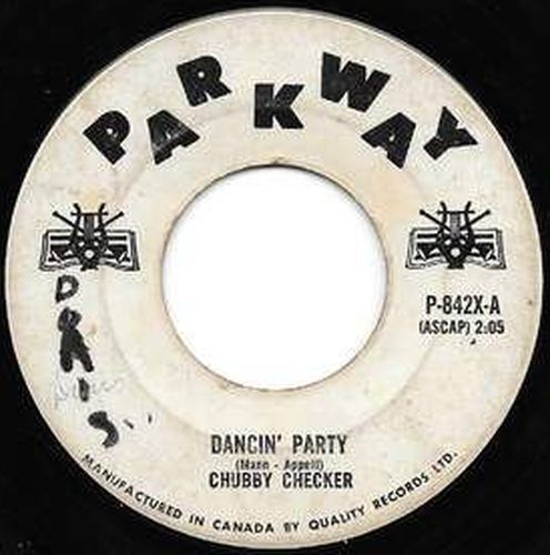 Acheter disque vinyle Chubby Checker Dancing Party / Gotta Get Myself Together a vendre