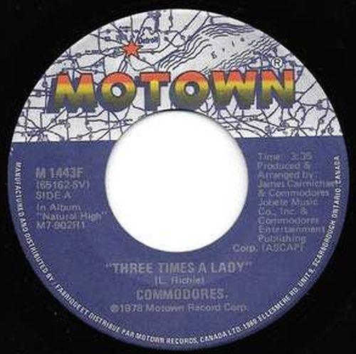 Buy vinyl artist% Three Times A Lady / Look What You' for sale