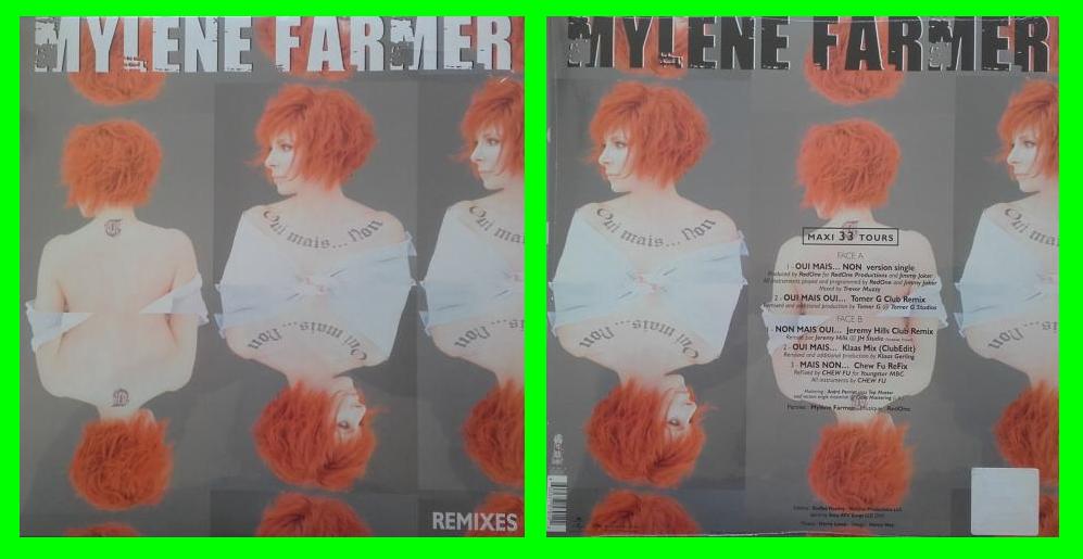 Acheter disque vinyle oui mais non myl ne farmer vendre for Oui non minimaliste