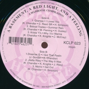 Acheter ce disque vinyle : A Basement, A Red Light, And A Feeling Various