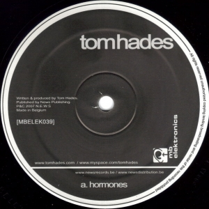Buy this vinyl record : hormones tom hades