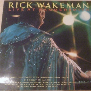 Acheter ce disque vinyle : live at hammersmith rick wakeman