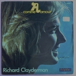 Buy vinyl record richard clayderman comme amour / comme amour (piano seul) for sale