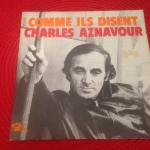 Buy vinyl record Aznavour Charles Comme ils disent / On se retrouvera for sale