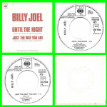 Buy vinyl record Billy Joel Until the night for sale