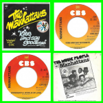 Buy vinyl record The Manhattans Kiss and say goodbye for sale