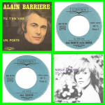 Buy vinyl record Alain Barrière Tu t'en vas for sale