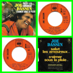 Buy vinyl record Joe Dassin Salut les amoureux for sale