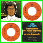 Buy vinyl record Joe Dassin La complainte de l'heure de pointe for sale