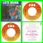 Buy vinyl record Joe Dassin Lété indien for sale