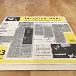 Buy vinyl record JACQUES  BREL Olympia 64 for sale
