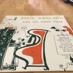 Buy vinyl record Cecil garland And his magic piano for sale