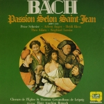 Buy vinyl record BACH Johann-Sebastian - Hans Joaquim Rotzsch Passion selon Saint-Jean for sale