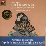 Buy vinyl record VERDI Giuseppe - Ricardo Muti La Traviata for sale