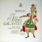 Buy vinyl record RAMEAU Jean-Philippe  - Jean-François Paillard Les Indes galantes - Version originale - Enregistrement intégral for sale