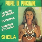 Buy vinyl record sheila Poupée de porcelaine for sale