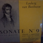 Buy vinyl record Ludwig Van Beethoven Sonate numéro 9 for sale
