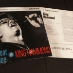 Buy vinyl record King Hammond The beat is blue for sale