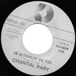 Buy vinyl record Chantal Pary Je M'ennuie De Toi / San Salvador for sale