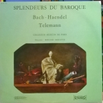 Buy vinyl record Bach - Haendel - Telemann Les Splendeurs Du Baroque for sale