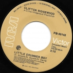 Buy vinyl record Clifton Ridgewood Little Drummer Boy / disco for sale