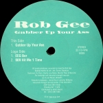 Buy vinyl record Rob gee Gabber up your Ass for sale